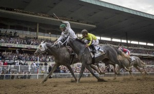 Creator won a photo finish over Destin to win the 2016 Belmont Stakes.