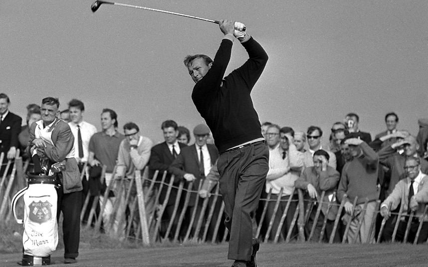 Arnold Palmer won seven golf majors and finished second 10 times.