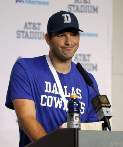 Despite all his injuries, Romo has remained the face of the Cowboy's franchise.