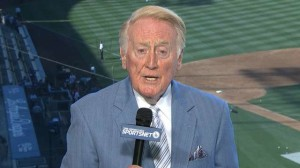 Vin Scully has been an icon since announcing his first major league game in 1950.
