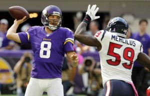 Sam Bradford was a key addition following the injury to Teddy Bridgewater.
