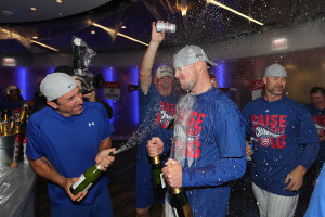 The Chicago Cubs got to celebrate their first National League pennant in 71 years. Will they have another celebration following the World Series?