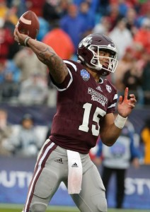 Prescott always faced good competition in the SEC at Mississippi State.