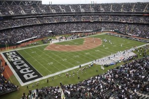 Oakland Alameda Stadium is currently the only stadium used for both the NFL and Major League Baseball.