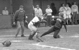 Women's softball has become a popular college sport.