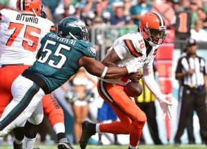 Even former Heisman Trophy winner Robert Griffin III has been unable to help the Cleveland Browns win in 2016.