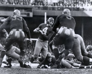 December 7, 1941 was Tuffy Leemans' Day at the New York Giants football game.
