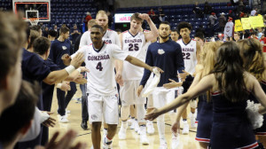 Gonzaga is looking to reach the Final Four for the first time under longtime coach Mark Few.
