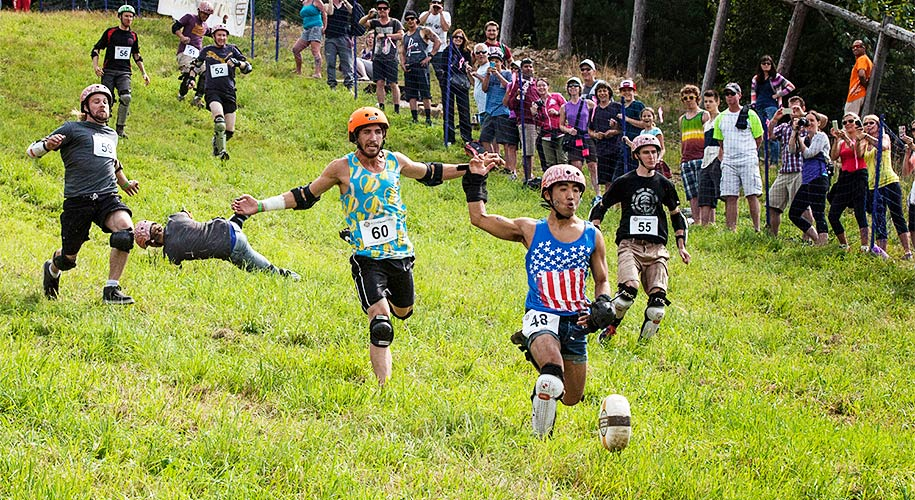 Cheese Rolling Sports Then And Now