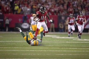 A key question in Super Bowl LI is whether the Patriots will be able to stop super receiver Julio Jones.