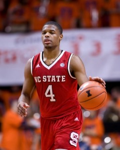 Dennis Smith Jr. was an impact freshman for the Wolfpack this season.