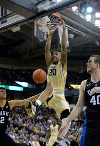John Collins emerged this season for an improved Wake Forest team.