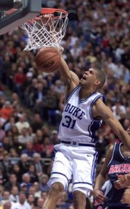 Shane Battier was a key player on Duke's 2000-01 team that won the NCAA Championship.