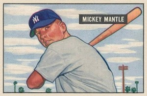 1951-Bowman-253-Mickey-Mantle-rookie-card