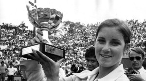 Chris Evert won a record seven French Open Women's Singles titles. The first two came back-to-back in 1974 and 1975.