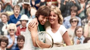 Chris Evert and Martina Navratilova were fierce rivals in the 1970s and 1980s. They each won 18 grand slam titles.
