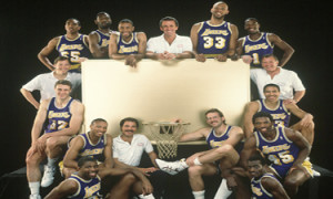 Nobody really cared that the Los Angeles Lakers won the Western Conference eight times in a 10 year period in the 1980s.
