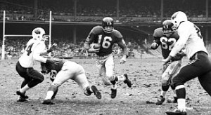 Former New York Giants great and Hall of Fame member Frank Gifford showd forms of CTE in his brain.