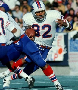 During the 1970s, O.J. Simpson was the best player in football, despite being relegated to Buffalo.