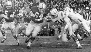 Jerry Kramer (#64) should join his teammate Paul Hornung (#5) in the Pro Football hall of Fame in 2018.
