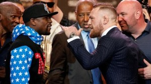 The hype is in full swing for the Floyd Mayweather fight against Conor McGregor.