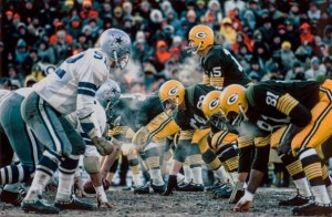 It was 50 years ago that the Dallas Cowboys and Green Bay Packers met in the Ice Bowl.