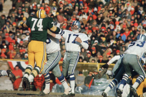 Don Meredith led the Dallas Cowboys to back-to-back NFL Title games against the Packers.