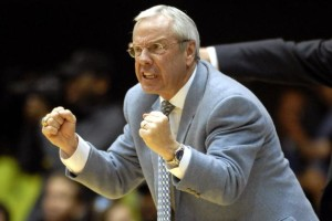 Roy Williams coaches with fierce intensity and has another 20-win season in 2017-18.