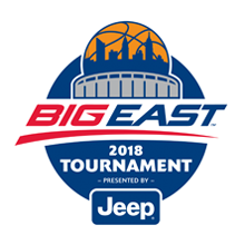 2018 Big East Tourn Logo