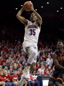Allonzo Trier is a key player for Arizona.