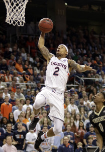 Bryce Brown averages 16.4 ppg. for Auburn.