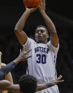 Senior forward Kelan Martin leads Butler with 21.2 ppg.