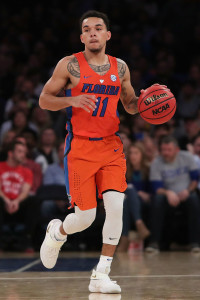 Chris Chiozza is a key player for third-seeded Florida.