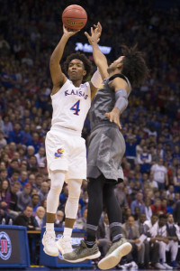 Devonte Graham brings senior savvy for the Jayhawks.