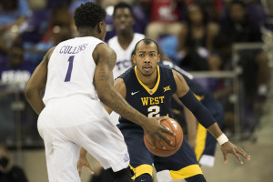 West Virginia's Jevon Carter is defensive stopper.