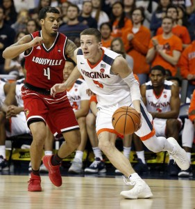 Kyle Guy is a reliable scorer for Virginia.