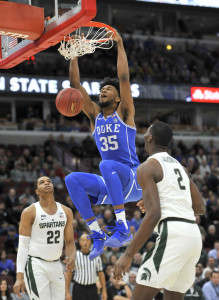 Marvin Bagley III can score and defend inside for Duke.