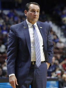 Mike Krzyzewski has lead Duke to five national titles.