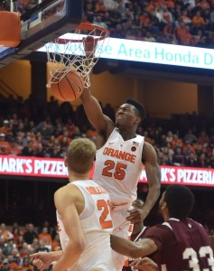 Tyus Battle is a key player for Syracuse.