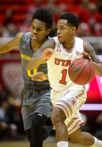 Justin Bibbins was named to the All-PAC-12 First Team for Utah.