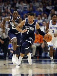 Junior guard Jalen Brunson scores 19.1 ppg for Villanova.