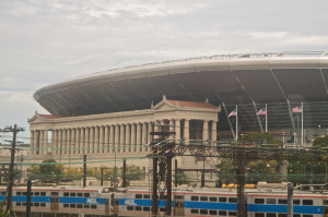 I will never get over how ugly they made Soldier Field