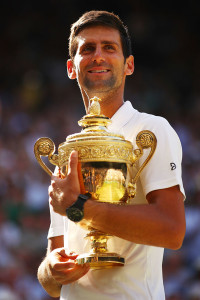 It was a long road back for Novak Djokovic to claim the 2018 Wimbledon title.