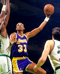 It took Kareem Abdul-Jabbar four years in Los Angeles before he led them to an NBA title.