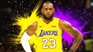 LeBron James will become the 20th out of the top 83 scorers in NBA history to play for the Lakers.