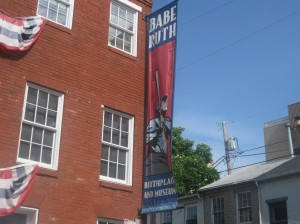 The Babe Ruth Museum in Baltimore is one of many cool sports destinations for a sports themes vacation.