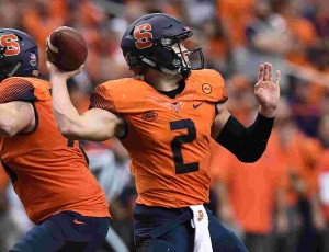 Senior quarterback Eric Dungey is a capable passer and runner for Syracuse.