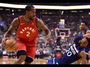 Kawhi Leonard is averaging a career-high 26 points per game for the Toronto Raptors.