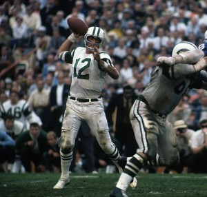 Joe Namath didn't throw a touchdown pass in Super Bowl III, but he moved the offense with the precision of a surgeon.