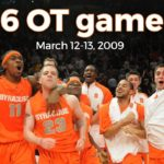Classic Rewind: Reliving the Six Overtime Marathon Between Syracuse and Connecticut in the 2009 Big East Tournament.